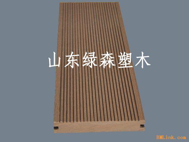 塑木地板 木塑实心板-【效果图,产品图,型号图,工程图