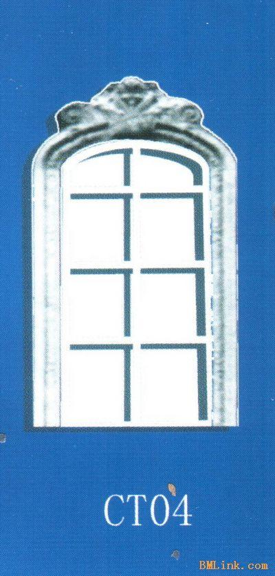于欧式风格建筑的室内外装饰,其产品檐线,腰线,门窗装饰线,山花卷草