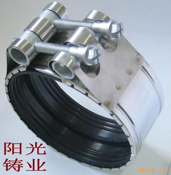 卡箍 柔性铸铁排水管件