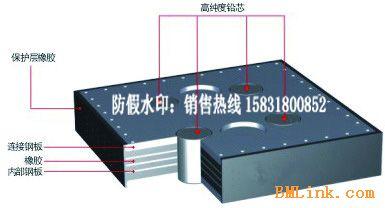 供应J4Q铅芯橡胶支座