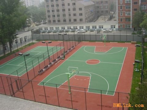 供应塑胶篮球场 - 青岛志成塑胶工程有限公司