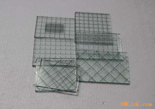 夹丝防火玻璃、夹丝防爆玻璃