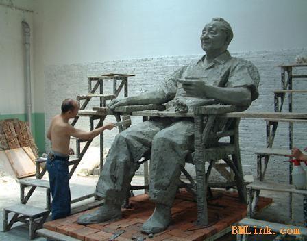 伟人像邓小平雕像