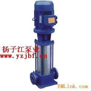 供应管道泵:GDL型立式多级管道泵