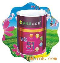 供应中国涂料十大畅销品牌大自然漆加盟