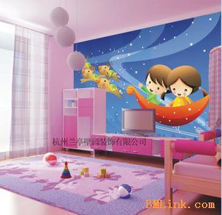 供应儿童卡通壁画图片|供应儿童卡通壁画效果图