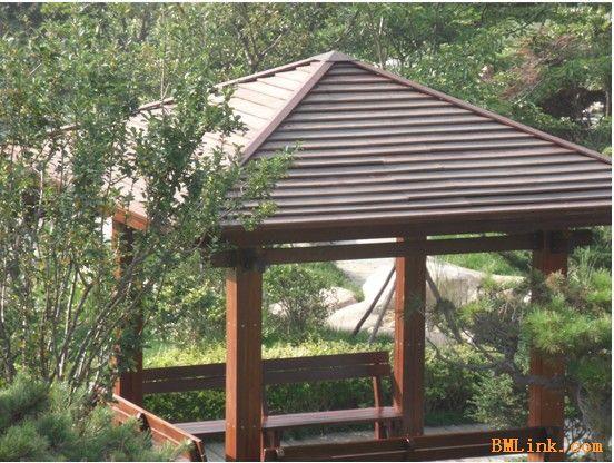 专业生产施工户外景观防腐木