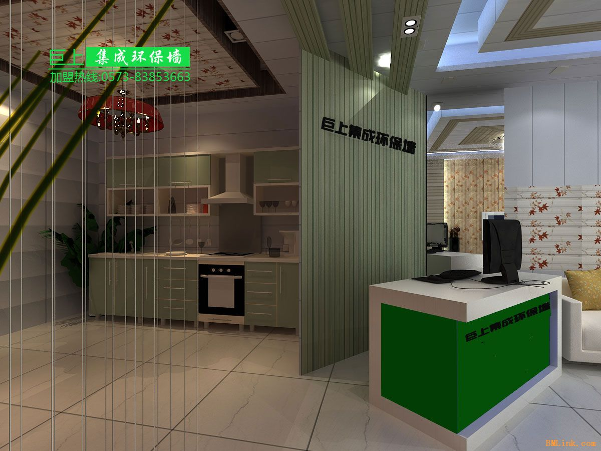 嘉兴市秀洲区王店巨上建筑装饰材料厂 公司简介:集成墙面是由巨上公司