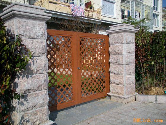 别墅装修庭院门,园林景观设计庭院门-【效果图,产品图