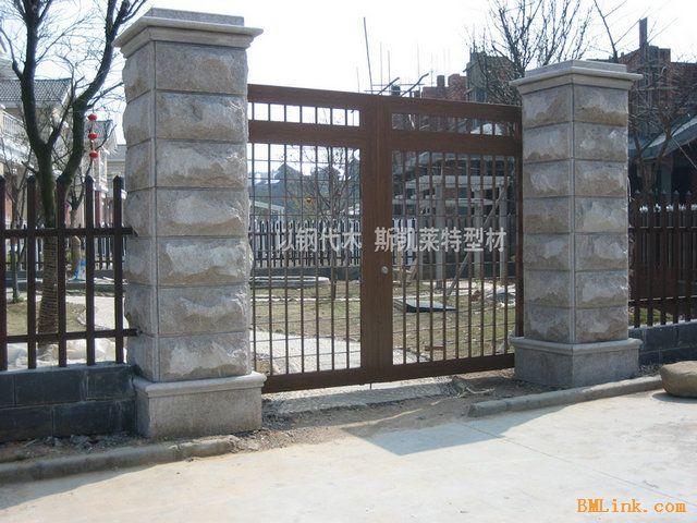 别墅 装修 庭院 门,园林景观设计 庭院 门 效果图