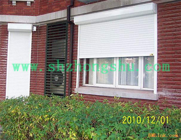 电动卷帘窗欧式卷帘窗阳台防盗窗
