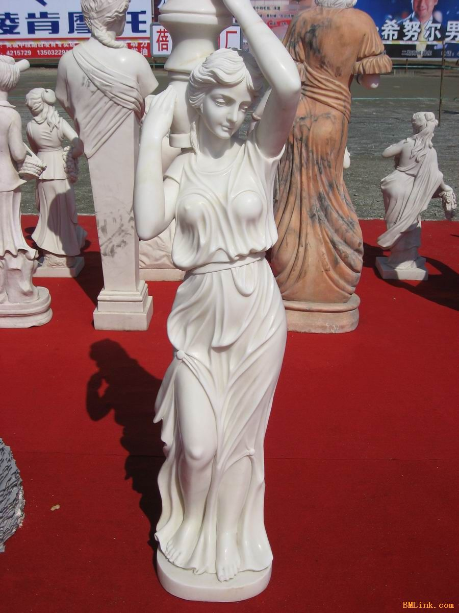 成都雕塑厂家销售欧式流水人物雕塑