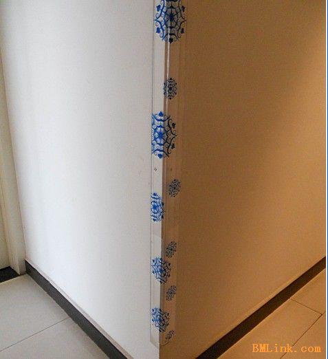 亚克力护墙角-【效果图,产品图,型号图,工程图】-中国图片