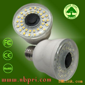 led声控灯,led声控感应灯,led楼道声控灯 2w小功率,高