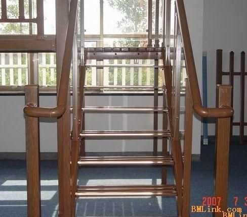 铝合金楼梯,楼梯扶手图片