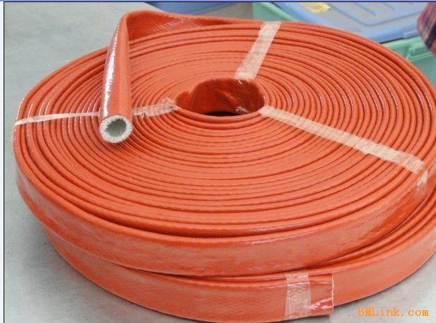 保温隔热硅胶玻纤套管