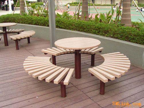 简约休闲桌椅,户外桌椅,公园桌椅; 户外休闲椅公园椅休息椅, 户外休闲