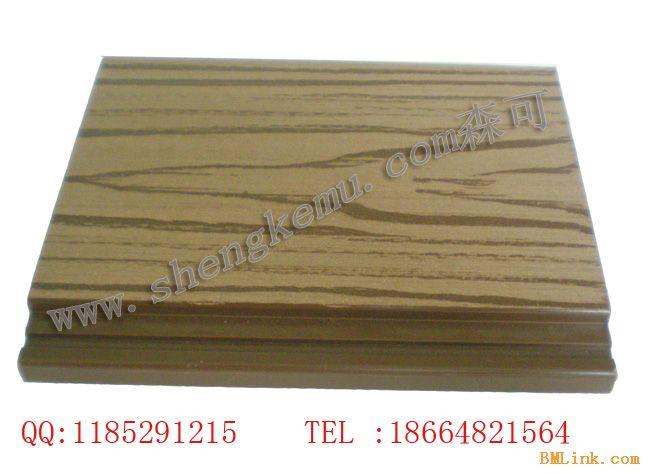 生态木外墙板仿木墙板防水防腐森可生态木12020接口板