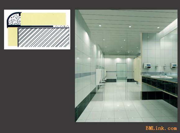 鑫美 瓷砖修边线 瓷砖阳角线 瓷砖修边条 阳角 高清图片