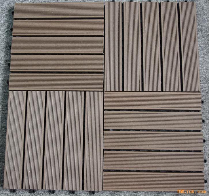 木塑拼花地板-【效果图