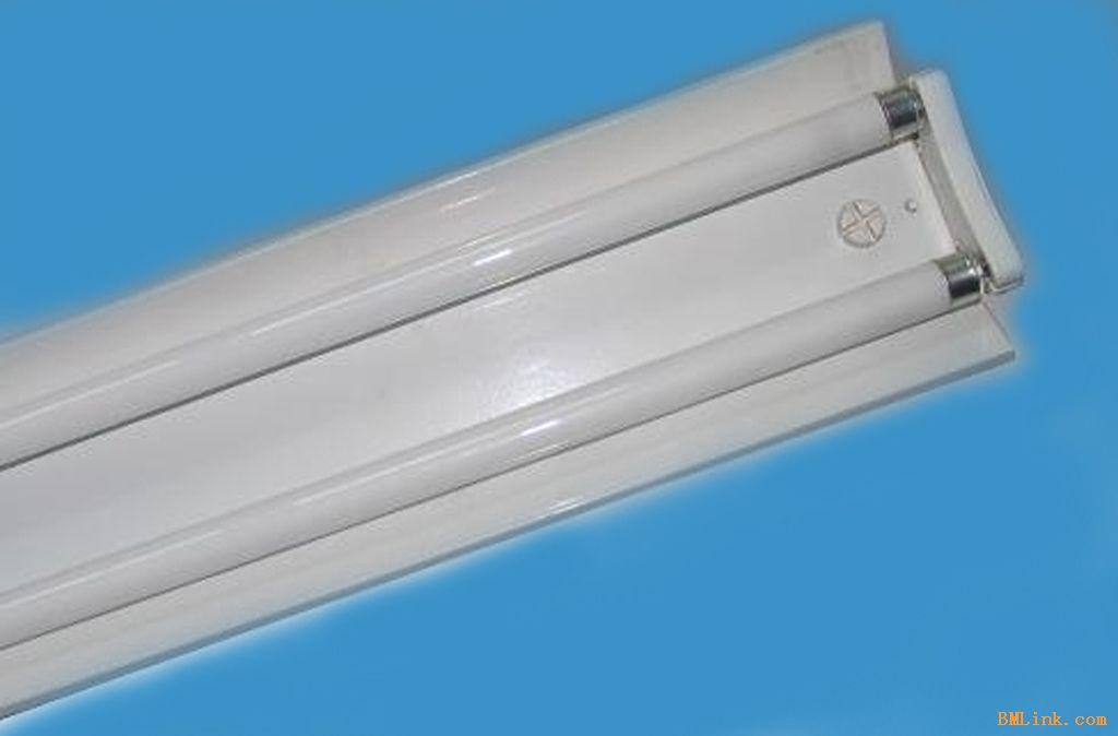 供应双管t5支架 t5双管支架 双管t5节能灯-福旺照明