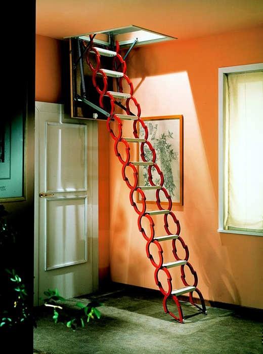 唯佳阁楼伸缩楼梯加工厂