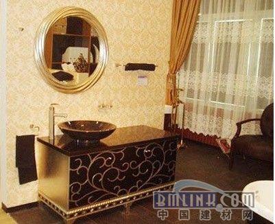 欧式经典的洗浴感受 巴洛克风格浴室欣赏