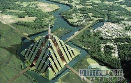 迪拜金字塔可持续城市