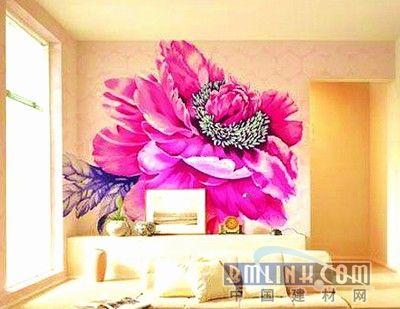 手绘墙风靡家装市场 家居装修流行趋势