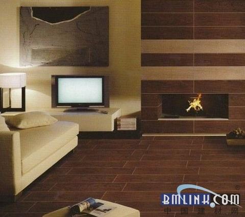 室内地板砖装修图片 木纹效果的瓷砖-室内木纹地板砖装修图片 7图秀