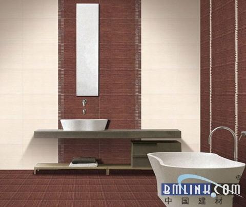 室内地板砖装修图片 时尚的卫生间设计