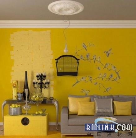 创意装饰打造时尚油漆墙面(组图)