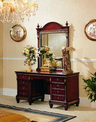 欧式古典梳妆台