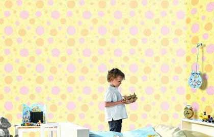 超可爱墙纸 打造儿童的童话乐园[组图]