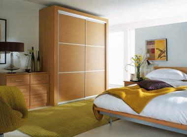 自然的气息 清新自然风格卧室装修样板