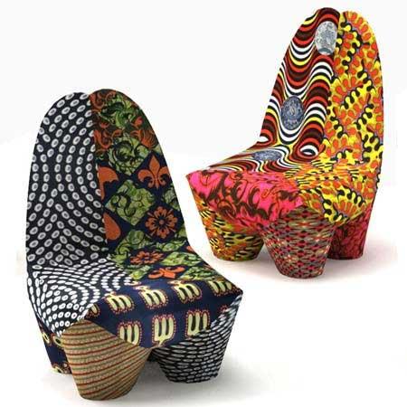 超时尚非洲元素沙发设计(图)