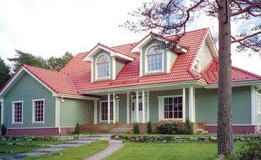 二层楼房外观及室内效果图设计 告诉你外观不聚财的房子