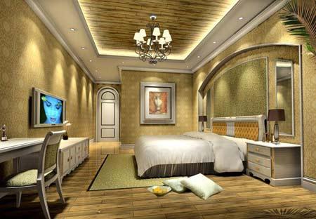经典欧式卧室装修效果图