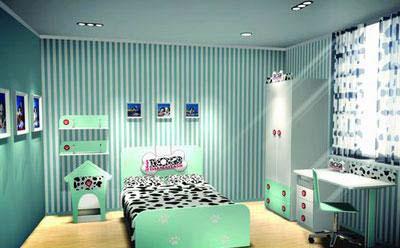 新款欧式男生房间卧室设计图