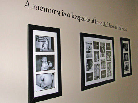 外国创意照片墙 家庭装修瞬间大变身高清图片