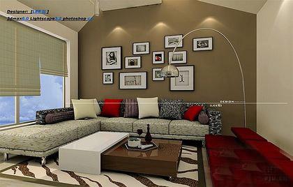 极品 15款绚丽客厅沙发背景墙装修效果图