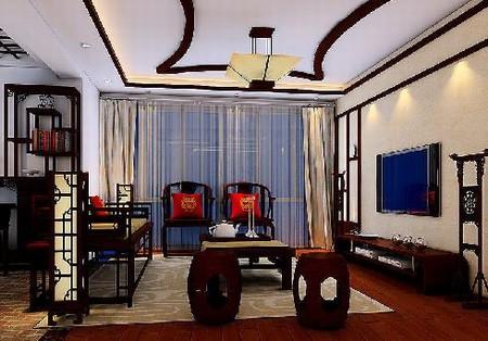 史上最有中国特色的中式客厅装修