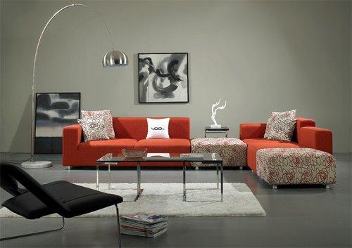 约又实惠 靓丽布艺沙发点亮客厅风采-靓丽布艺沙发 款款精彩图片