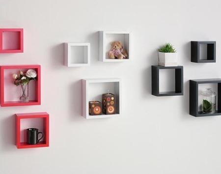 让墙壁变身魅力空间 创意隔板装饰家(组图) 这种搁板通常为木制的