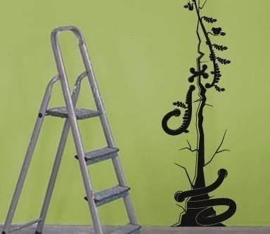 双色创意手绘壁纸极简主义的视觉享受