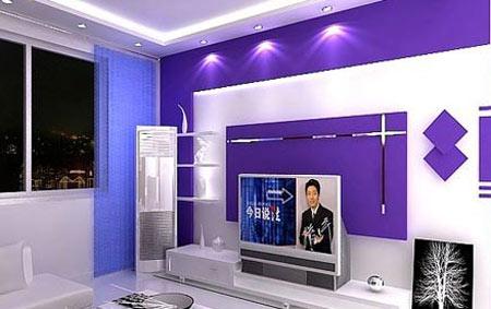 惊艳时尚客厅电视背景墙效果图    在家居装修中,推开客厅的门,除了