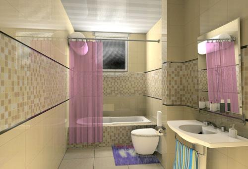 洗手间装修省钱的六大法则 高清图片