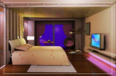 找灵感装修 打造40款现代卧室装修时尚效果