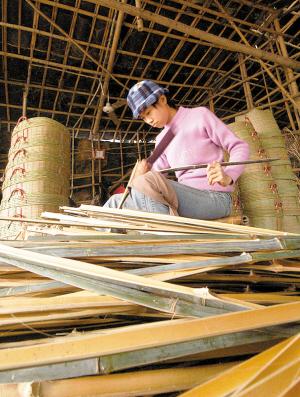 小学生手工制作大全图片竹船