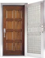 供应防火防盗入户门一框两门